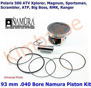 Bore 1994-1997 Wiseco Polaris Big Boss Bigboss 400 6X6 Piston Kit 83mm std